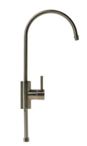 Кран для чистой воды №19 Аквапро (матовый никель)